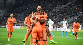 3e place, avantage Lyon. AFP
