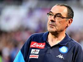 Sarri is still yet to be confirmed as Chelsea manager. AFP