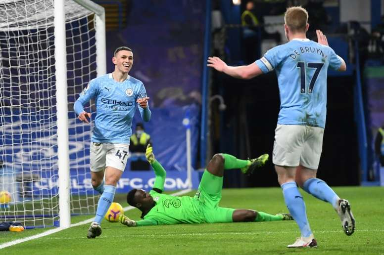In-form Foden is natural fit for England, says Guardiola. AFP