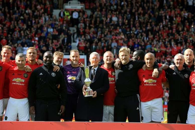 Manchester United a une nouvelle fois vaincu le Bayern Munich. AFP