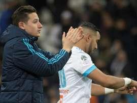 El Olympique de Marsella no pasó del empate. AFP