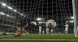 En Hongrie, les stades peuvent à nouveau se remplir. afp