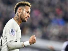 Neymar laisse la porte ouverte au Real Madrid. AFP