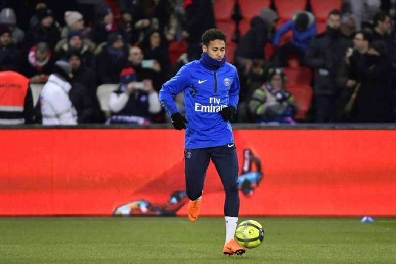 Neymar pourrait quitter Paris. AFP