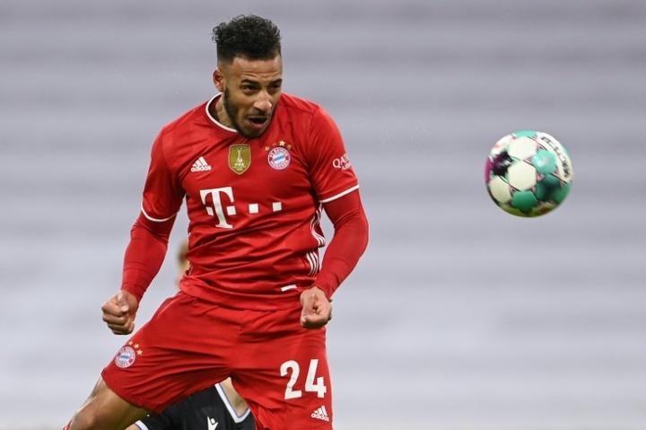 O Bayern confirmou o positivo de Tolisso para COVID-19. AFP