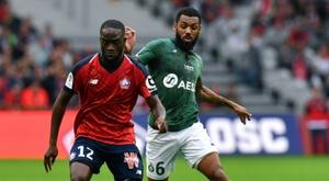 El Lille sumó un punto para alcanzar la segunda plaza. AFP