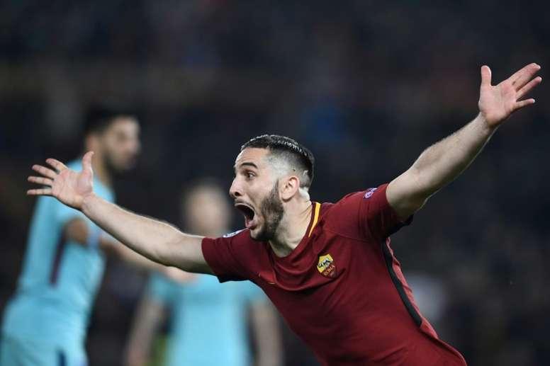 Manolas podría dejar la Roma. AFP
