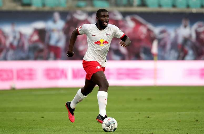 United want Upamecano. AFP