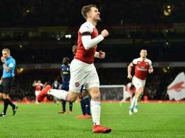Arsenal dit au revoir à Ramsey. AFP