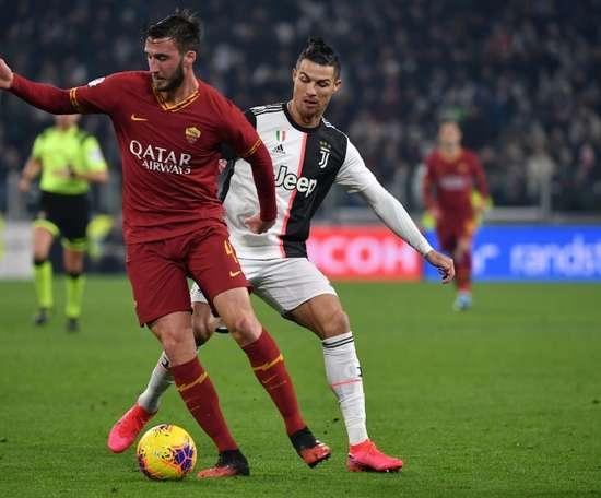 Un joueur de l'AS Rome suspendu pour blasphème par la Ligue. AFP