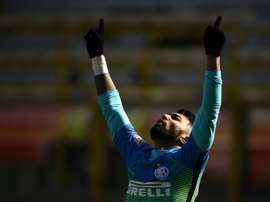 Gabriel Barbosa wants to stay at Inter. AFP