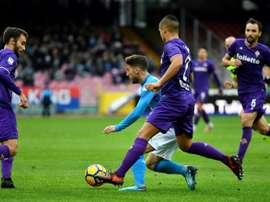 La Fiorentina a mis un prix sur Dragowski. AFP