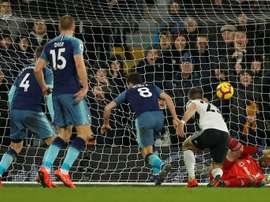Tottenham ramène une victoire précieuse. AFP