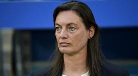 Corinne Diacre fait quatre changements contre le Nigeria. AFP