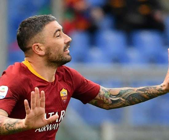 Conte is very keen on getting Kolarov from Roma. AFP