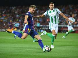 Deulofeu soma apenas 883 minutos, dois gols e três assistências pelo clube catalão. EFE