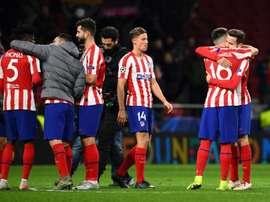 OFFICIEL : L'Atlético Madrid annonce deux cas positifs. AFP