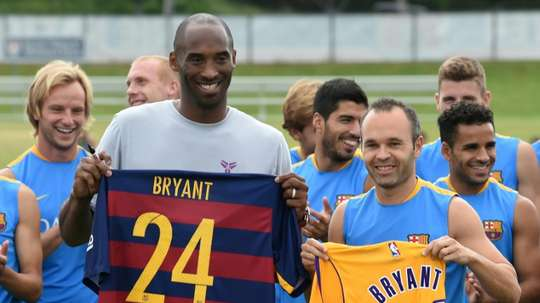 Kobe Bryant, le plus footeux des basketteurs