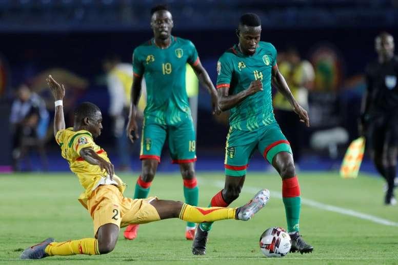 Mauritania se juega su futuro en la Copa África en la tercera jornada. AFP/Archivo