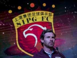 L'entraîneur portugais du Shanghai SIPG André Villas-Boas, le 13 février 2017 à Shanghai. AFP