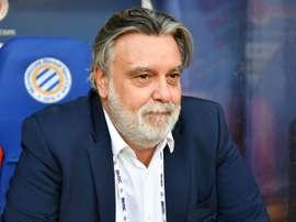 Montpellier confirme l'arrivée d'un nouveau gardien. AFP