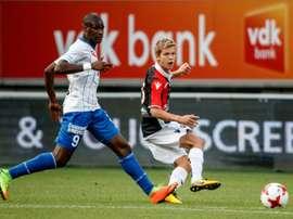 Samuel Kalu llegó al Girondins por 8 millones de euros. AFP