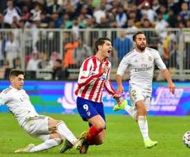 Valverde fala sobre sua dura entrada em Morata. AFP
