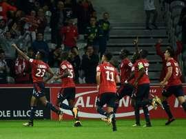 Thiago Mendes marcou e o Lille bateu o Saint-Étienne. AFP