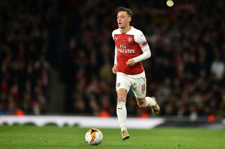 Ouïghours: la star d'Arsenal Ozil dénonce le silence des pays musulmans. AFP