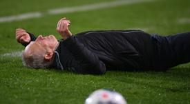 Christian Streich lleva siendo entrenador del Freiburg desde 2012. AFP/Archivo