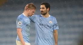 Kevin De Bruyne é o novo desfalque do Manchester City. AFP