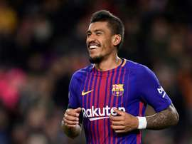Paulinho is playing in his first Champions League. AFP