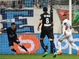 Gol de última hora de Payet. AFP