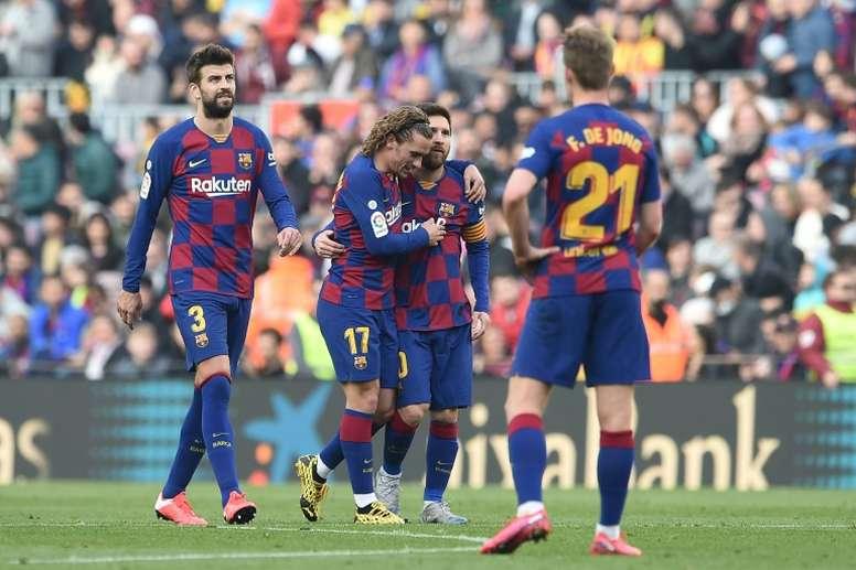 El Barça le habría transmitido un mensaje de confianza al 'Principito'. AFP