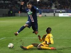 Le programme des quarts de finale de la Coupe de France. AFP