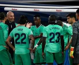 Zinedine Zidane comentou a situação de jogadores com menos espaço no time. AFP