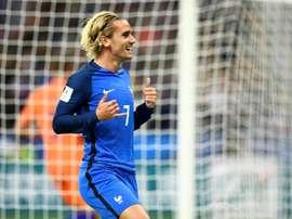 Griezmann habló sobre el sorprendente empate de Francia ante Luxemburgo. AFP