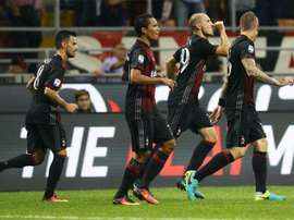 Reparto de puntos en la Serie A. AFP
