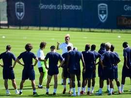 Bordeaux doit gagner sa place en Europa League. AFP