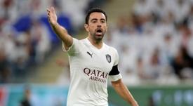 Xavi, listo para tomar el banquillo del Al Sadd. AFP