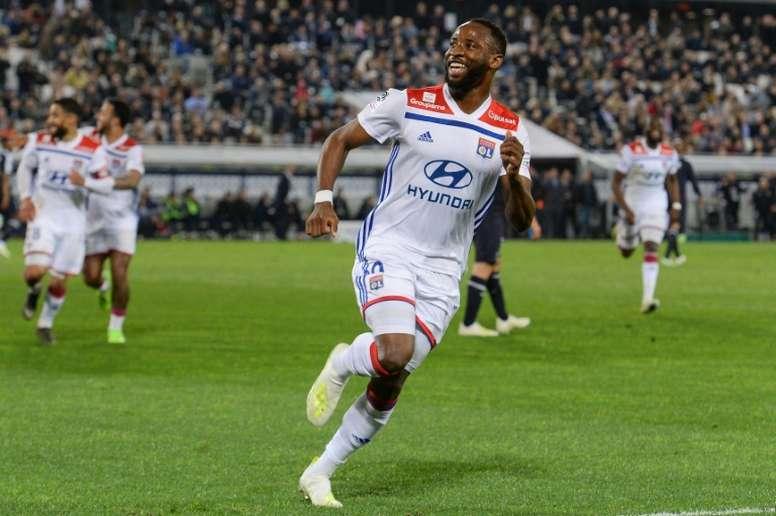 Moussa Dembélé has become a major target for United. AFP