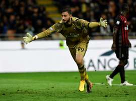Donnarumma is considered one of the most promising talents in Europe. AFP