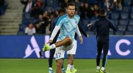 Le Genoa confirme le prêt de Strootman. afp