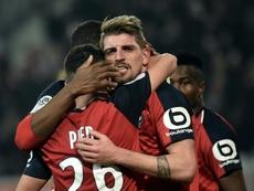 Lille gagne enfin à domicile. AFP