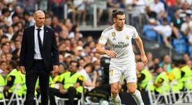Zidane descarta a Bale, Brahim y Mariano ante Osasuna. AFP