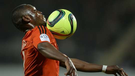 Lorient's Majeed Waris could play for Premier League side Burnley. AFP