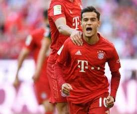 Seu compatriota recomenda que Coutinho siga no Bayern. AFP