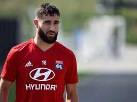 Fekir is refusing to rule out a departure before the end of the transfer window. AFP