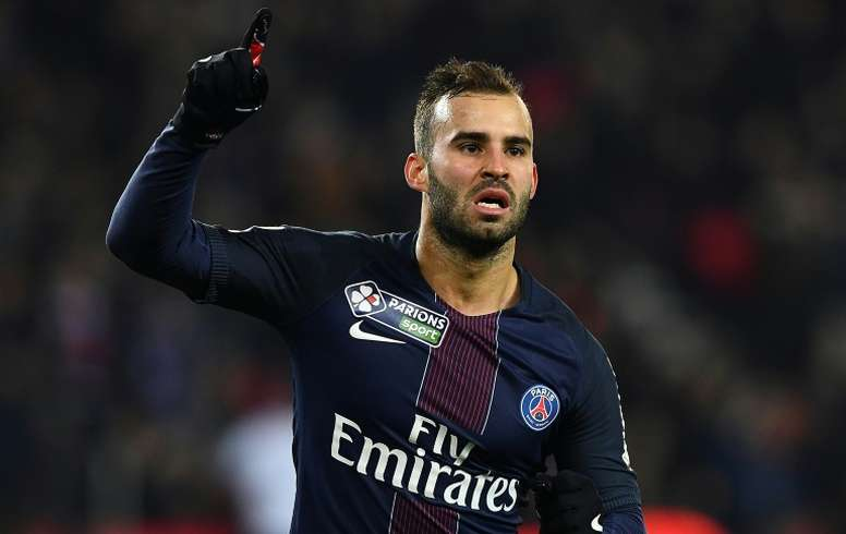 Jese Rodriguez is no longer a PSG player. AFP
