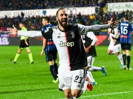 DC United reportedly want Higuaín. AFP